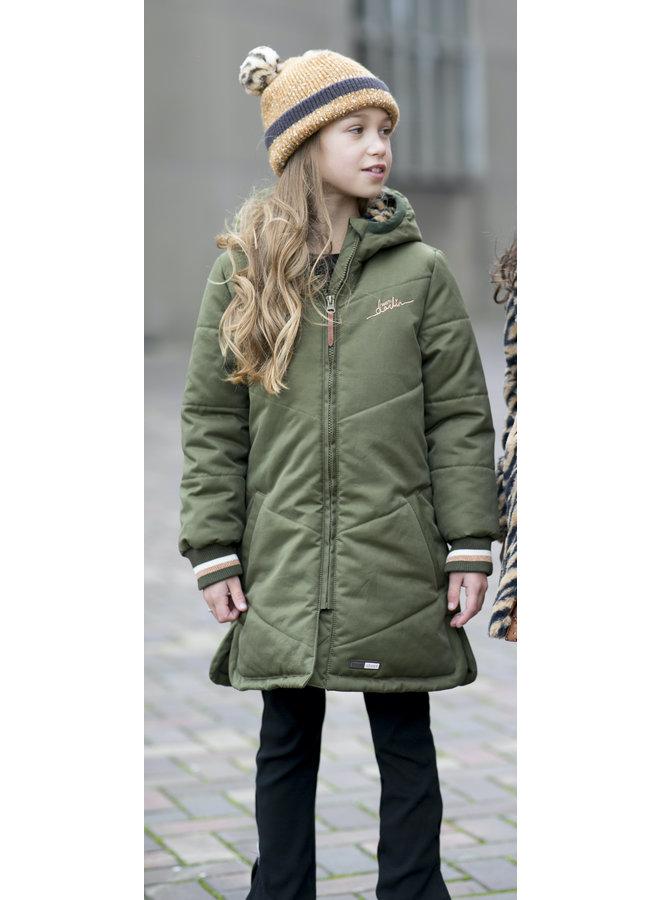 Moodstreet - Long Jacket - Khaki