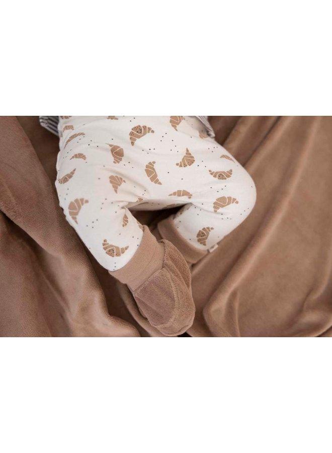 Feetje - Slofje Zand - Little Croissant