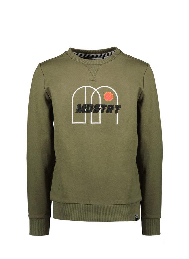 Moodstreet - Sweater - Khaki
