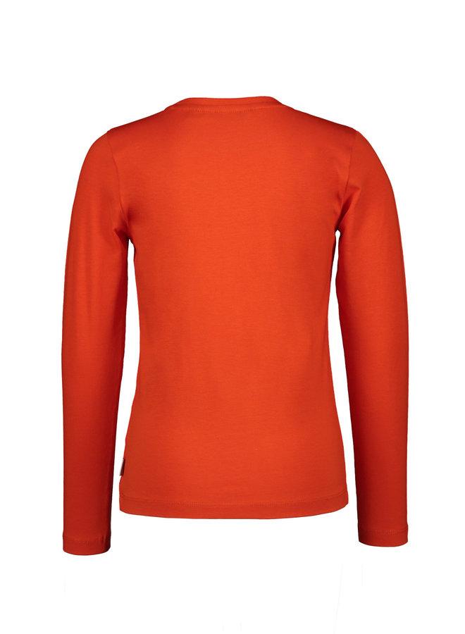 Moodstreet - Longsleeve - Orange