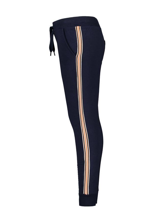 Tygo & Vito -  Jog Pants Striped Tape - Navy