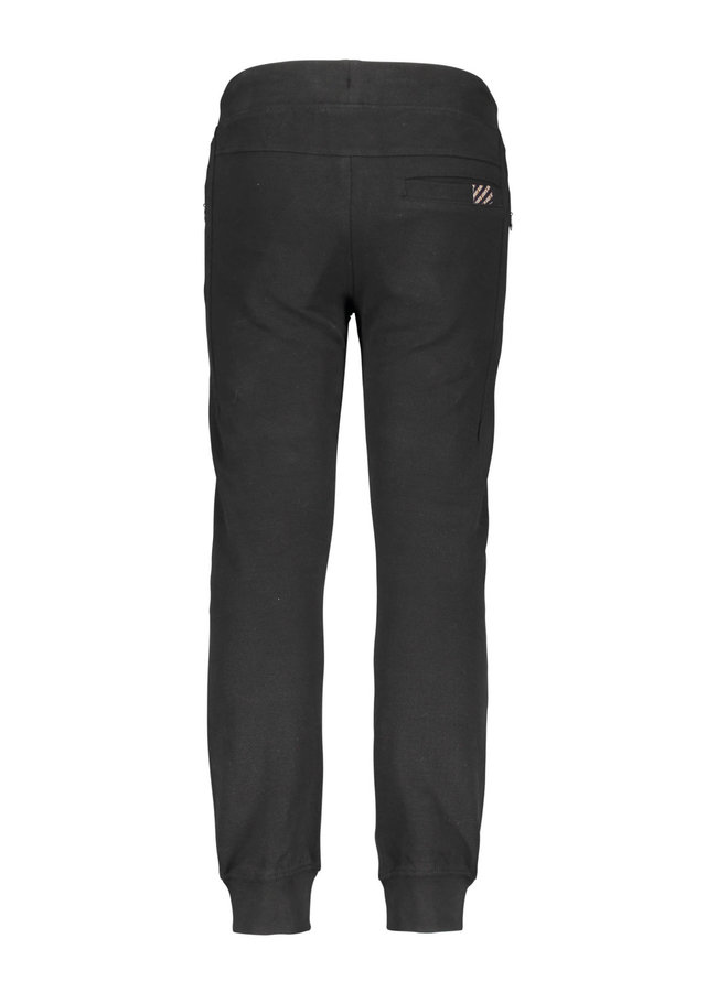 B.Nosy - Sweat Pants With Patched Pockets - Black