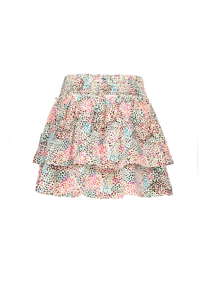 B.Nosy - 2-Layer Skirt With Multi Spots AO - You Spots