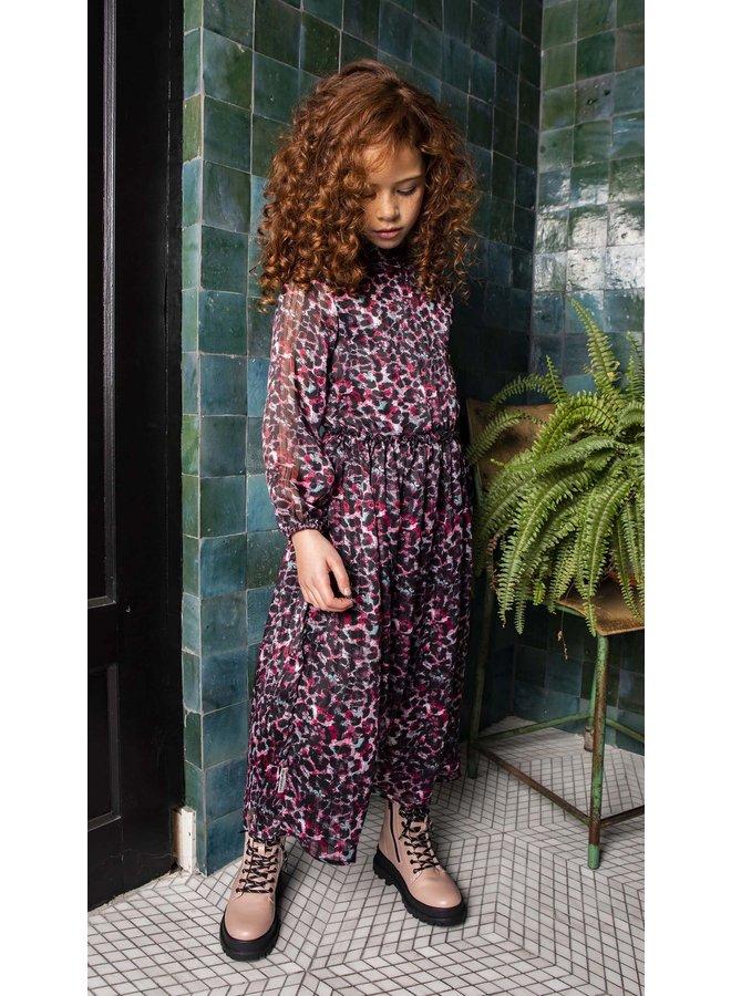 B.Nosy - Maxi Dress With Body Baby Plisse Skirt - Brushed AO