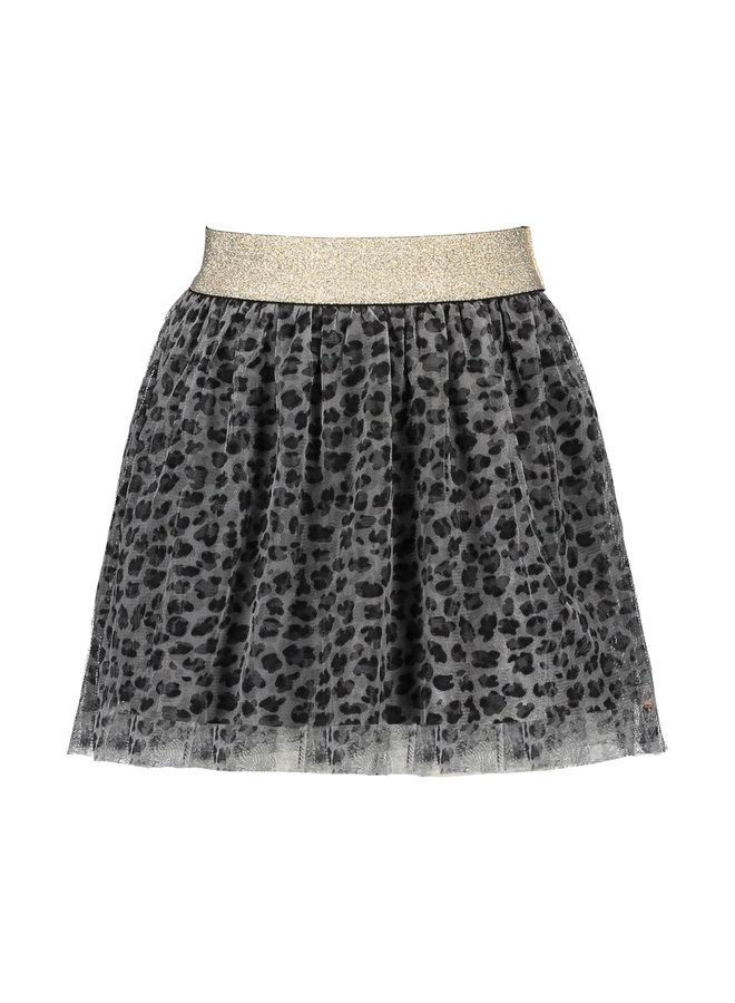 Moodstreet - Tulle Skirt - Grey