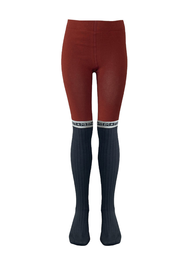 Topitm - Maillot Sanne - Grey/Rusty Red
