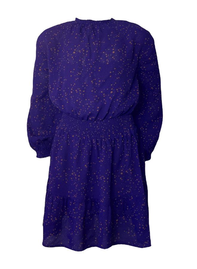 Topitm - Dress Charlotte - Cobalt Star