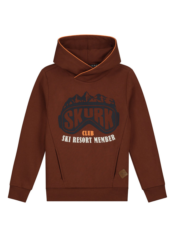 Skurk - Hoodie Seth - Cognac