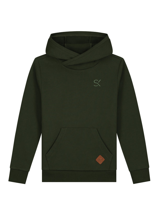 Skurk - Hoodie Shody - Army