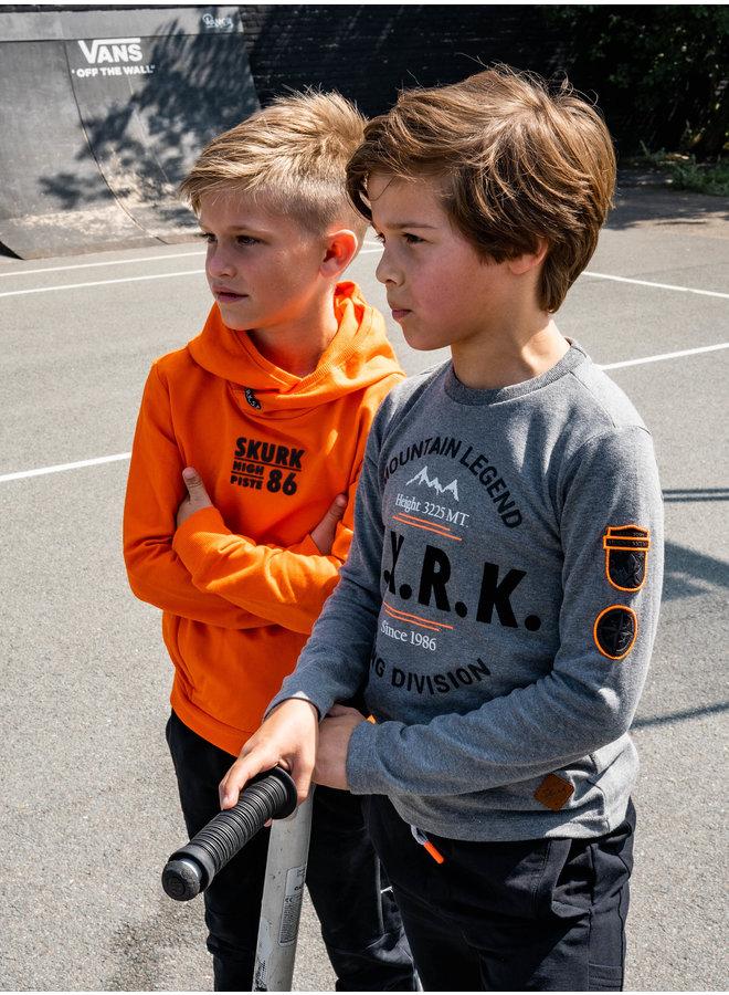 Skurk - Hoodie Sem - Orange