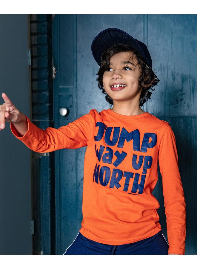 Tygo & Vito -  Longsleeve Jump - Orange