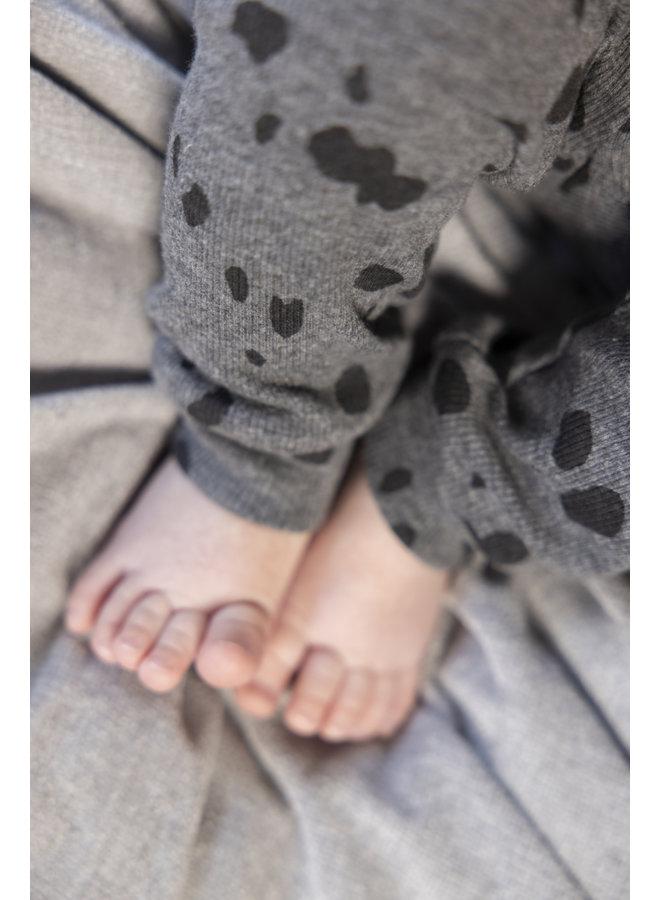 Feetje - Baby Pyjama Spotted Sam Grijs Melange - Premium Sleepwear