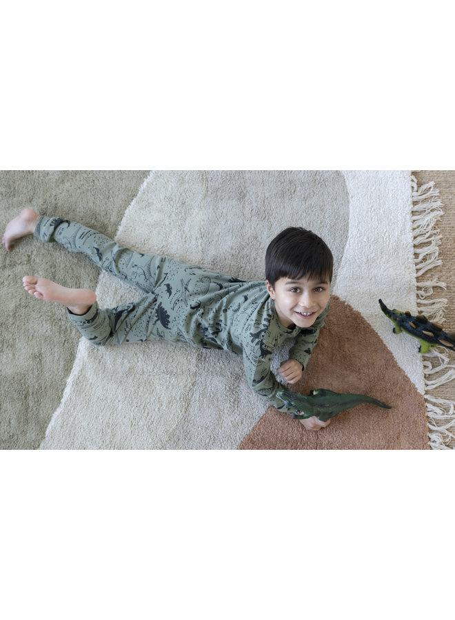 Feetje - Pyjama Dino Drew Army - Premium Sleepwear
