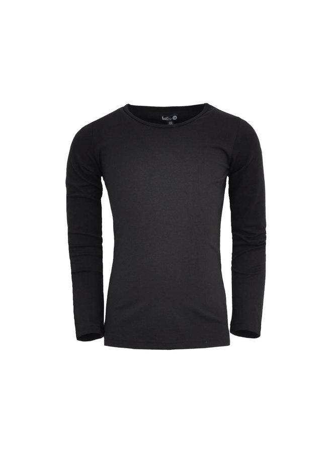 LoFff - Basic T-shirt Rosa - Black