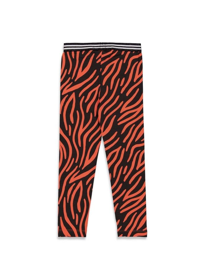 PRE-ORDER - Jubel - Legging AOP Zwart - Blushing Zebra
