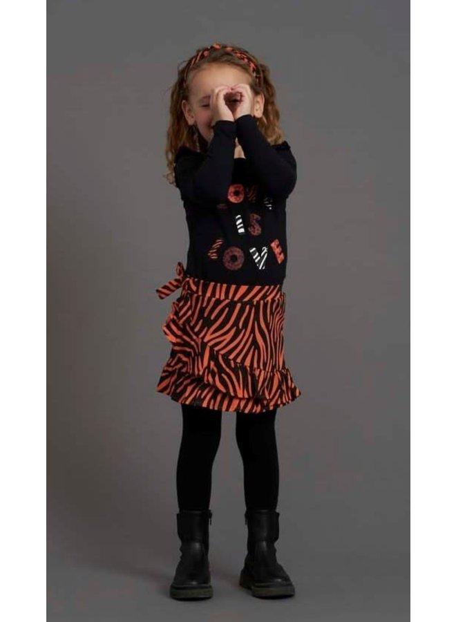 PRE-ORDER -  Jubel - Legging Zwart - Blushing Zebra