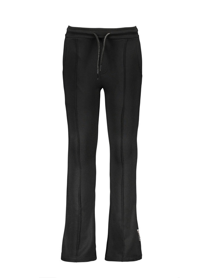 B.Nosy - Flaired With Ruffle Detail At Hem - Black