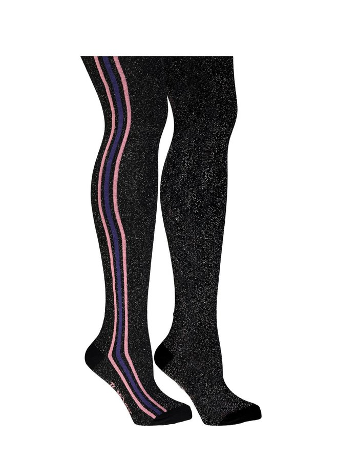 B.Nosy - B.Outside Tight With Vertical Stripe - Black