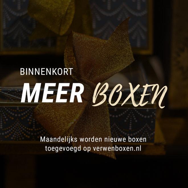 Binnenkort: meer boxen