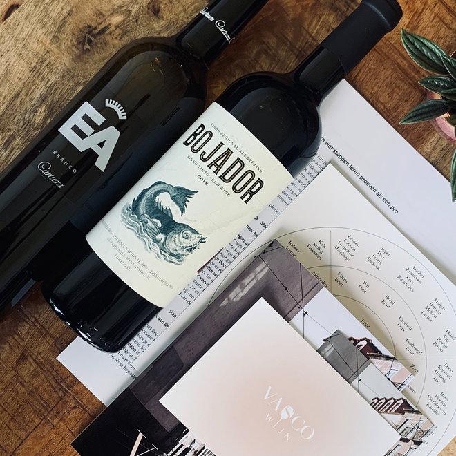 Wijnproeverij at Home pakket - Rode & Witte Wijn