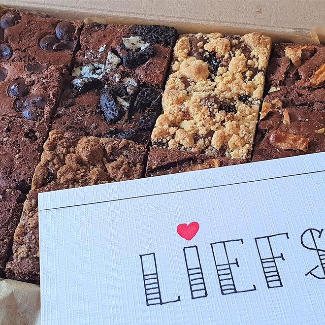 Brownie Proeverij Origineel -  Versgebakken Brownies