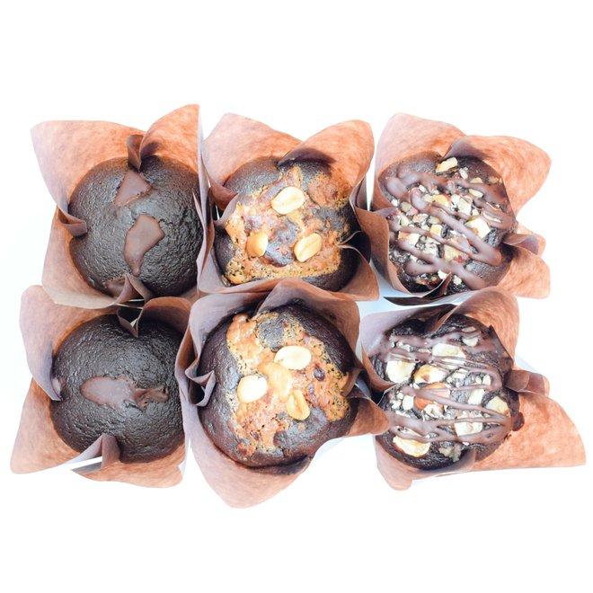 Bio Vegan Choc Muffins Party Box