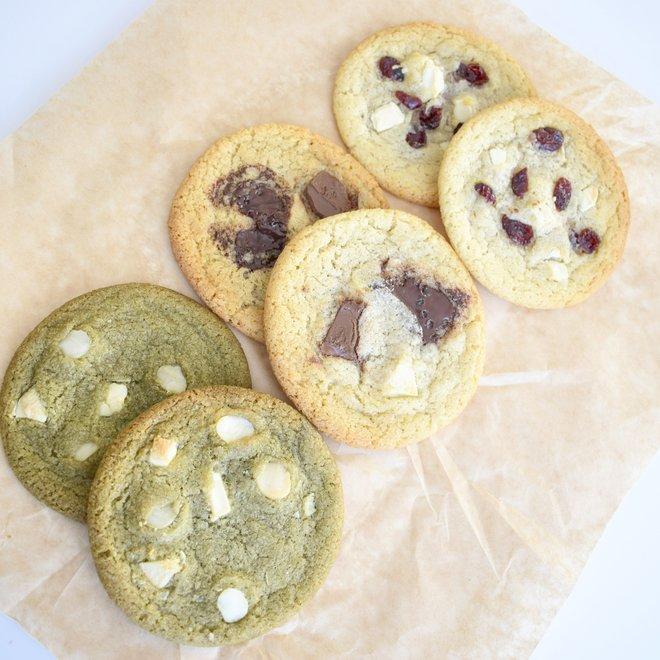 Bio White Chocolate Cookies Party Box