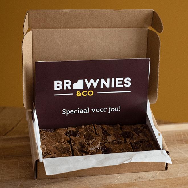 The Perfect Brownie Post Box – 8 stuks