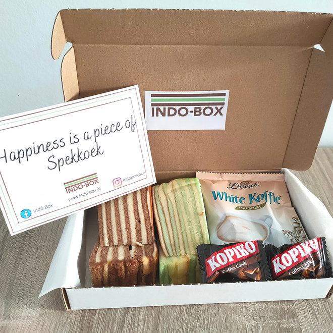 Spekkoek & Koffie Box