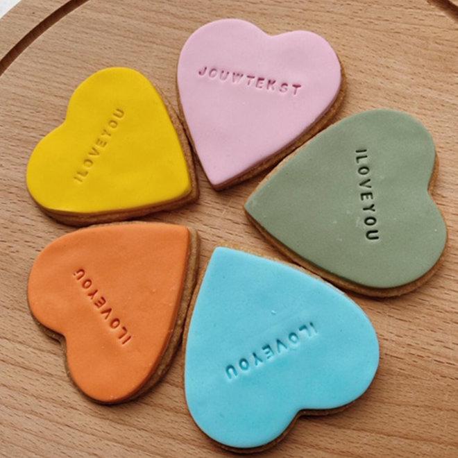 Chocoloco koekjesbox - Diverse vormen en kleuren
