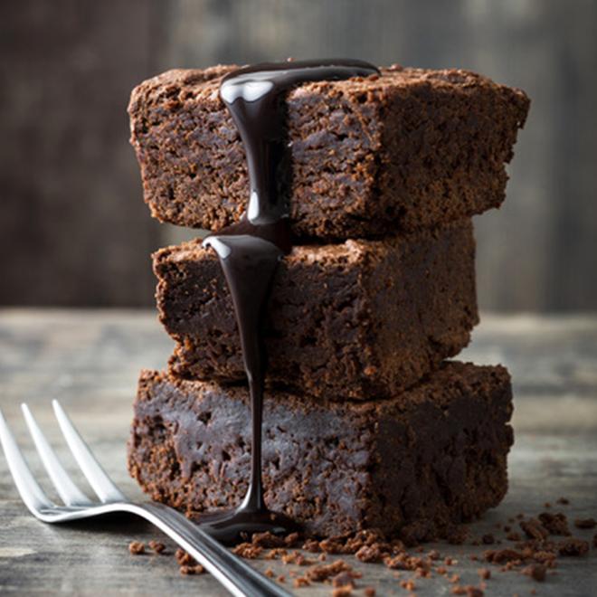 Vegan Brownie proeverij verwenbox