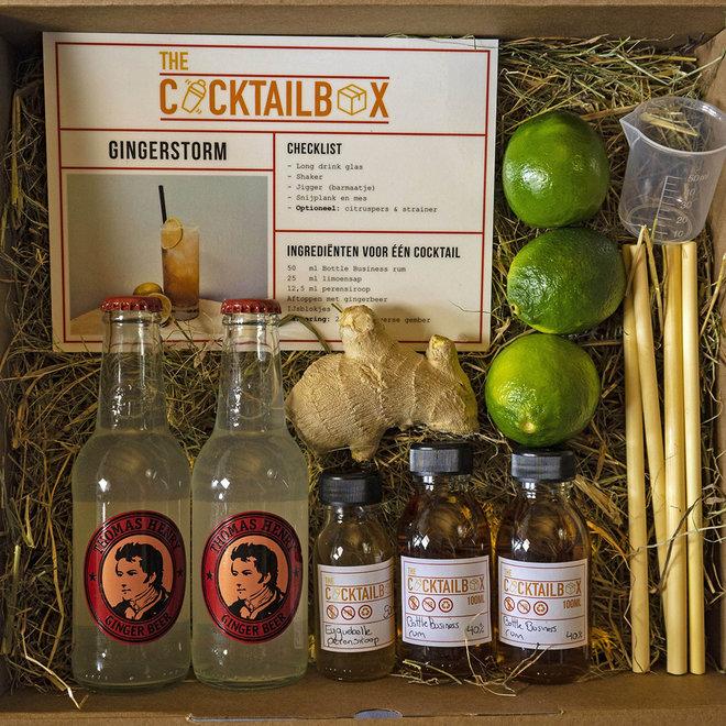 Gingerstorm & Raspberry Collins (cocktailbox)