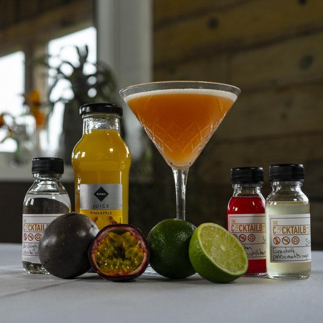 Pornstar Martini & Blood orange paloma