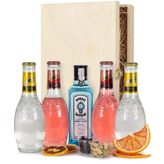 Gin & Tonic Box - Schweppes & Bombay Sapphire