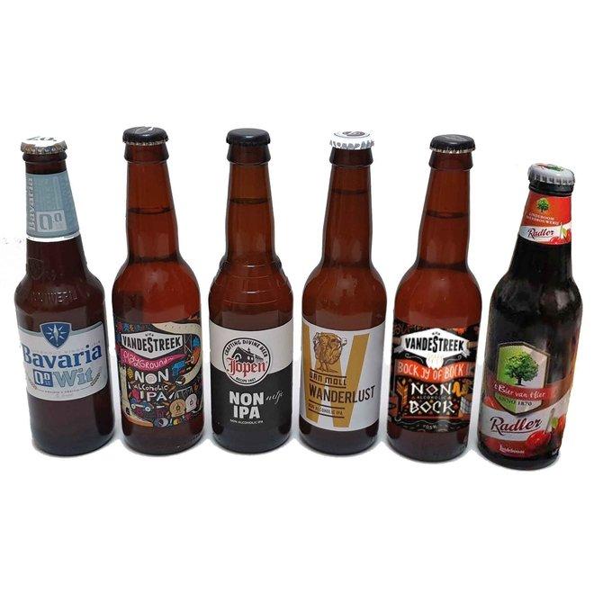 6 streekbieren  (Keuze uit Origineel / Alcoholvrij)