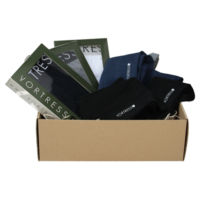 Boxers & Sokken Premium Cadeaupakket