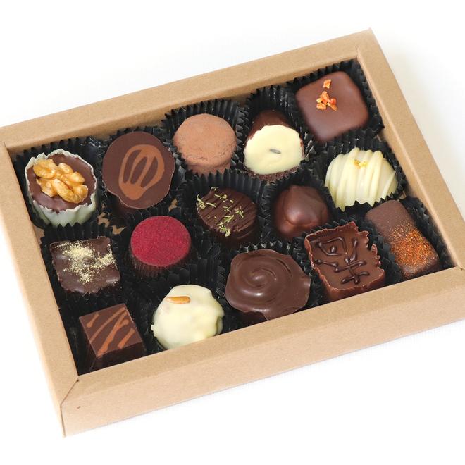 Bonbon Giftbox (proeverij van bonbons)