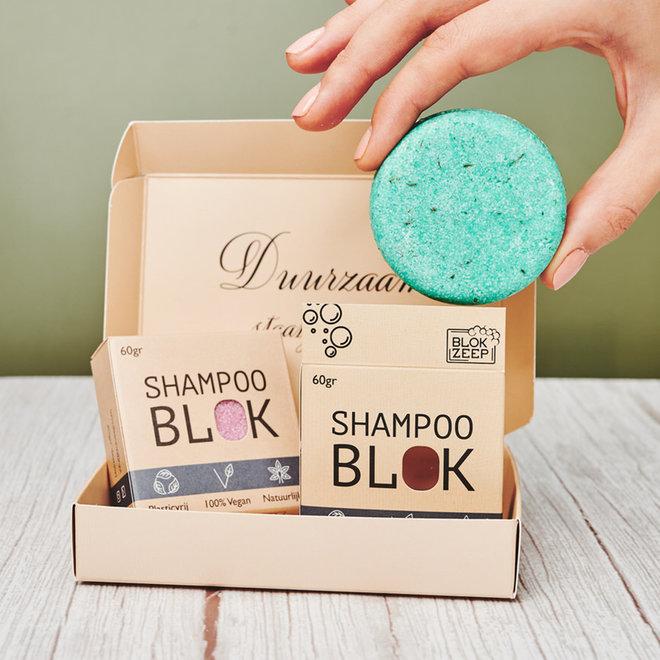 2 stuks - Stel zelf je Shampoo, Conditioner & Body bars samen