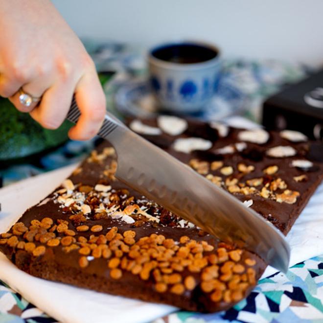Glutenvrije Brownies per post