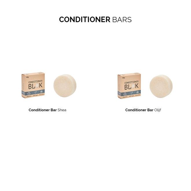 3 stuks - Stel zelf je Shampoo, Conditioner & Body bars samen