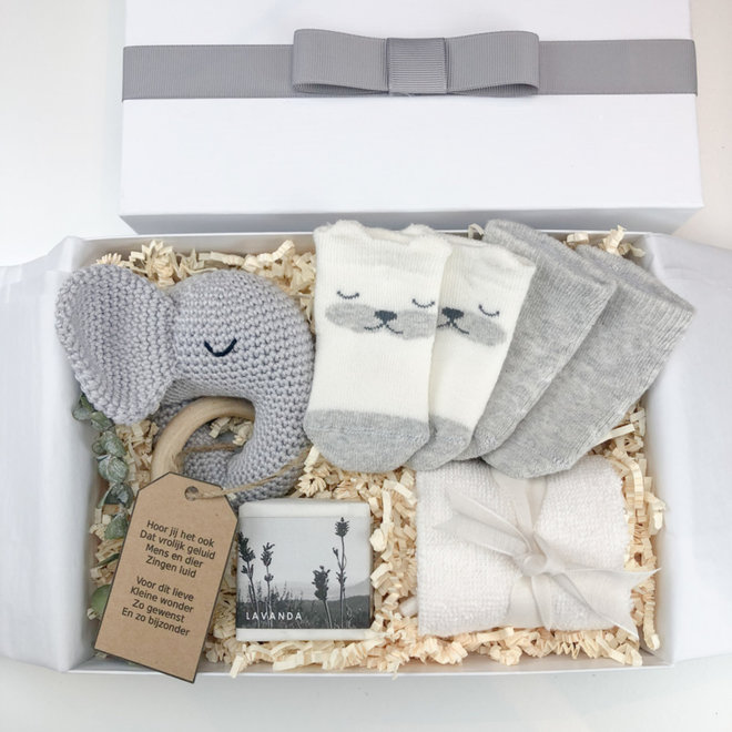 Giftbox 'Little Miracle' (Grijs)