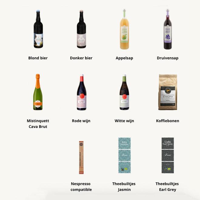 Blik & Drink (keuze uit div. drankjes)