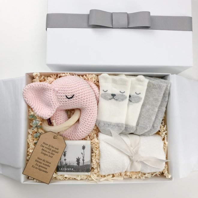 Giftbox 'Little Miracle' (Roze)