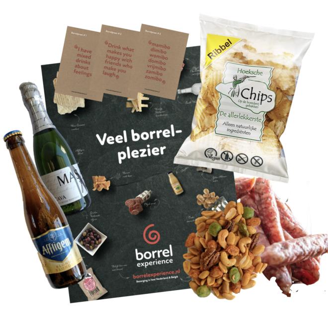 Bier- & Wijn Borrelbox (6 formaten - 22,95 t/m 59,95)