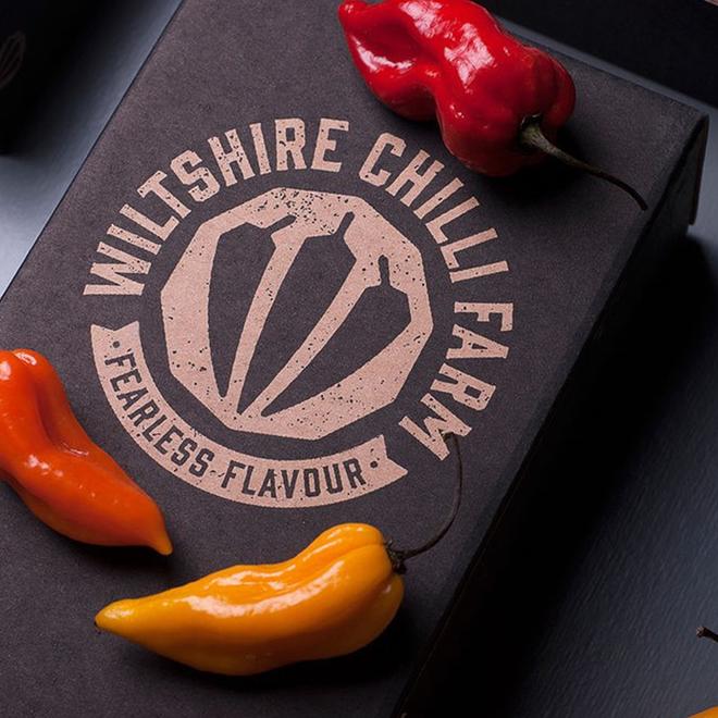 Hot Box Duo – Wiltshire Chilli Farm (Choose any 2 – Heat Level 10)