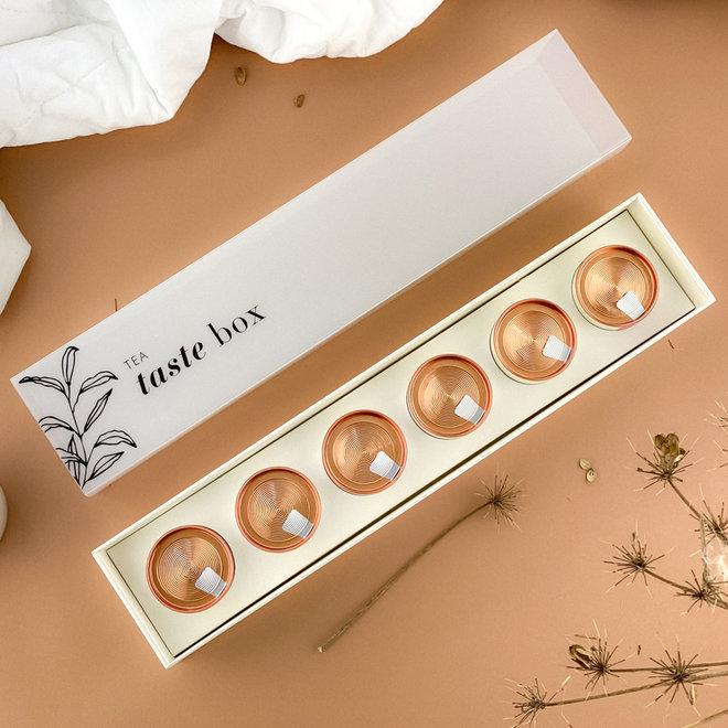 Tea Taste Box Wit - 4 varianten
