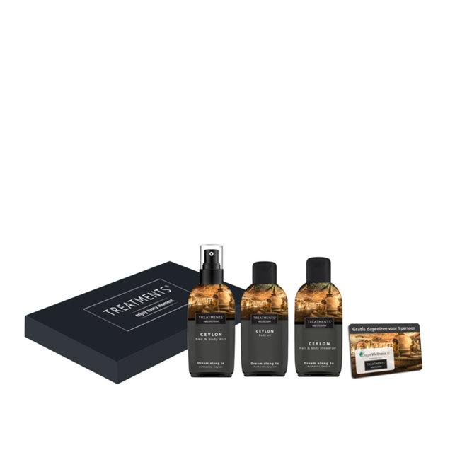 Body & Fragrance Mailbox (Brievenbus Giftbox - 4 geuren)