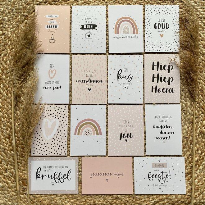 'Kus door je brievenbus'  -  Brievenbus cadeautje