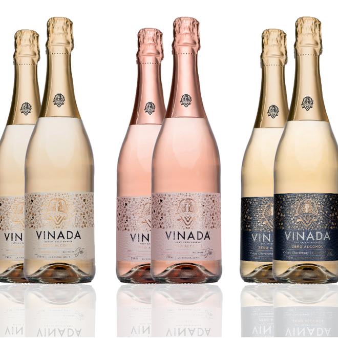 VINADA® Multipack - Alcoholvrije wijn - 6x 200ml of 740 ml