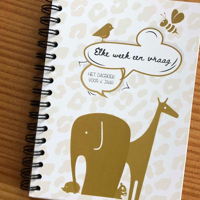 Dagboek voor 4 jaar en Mijlpaalkaarten set Mini & Co